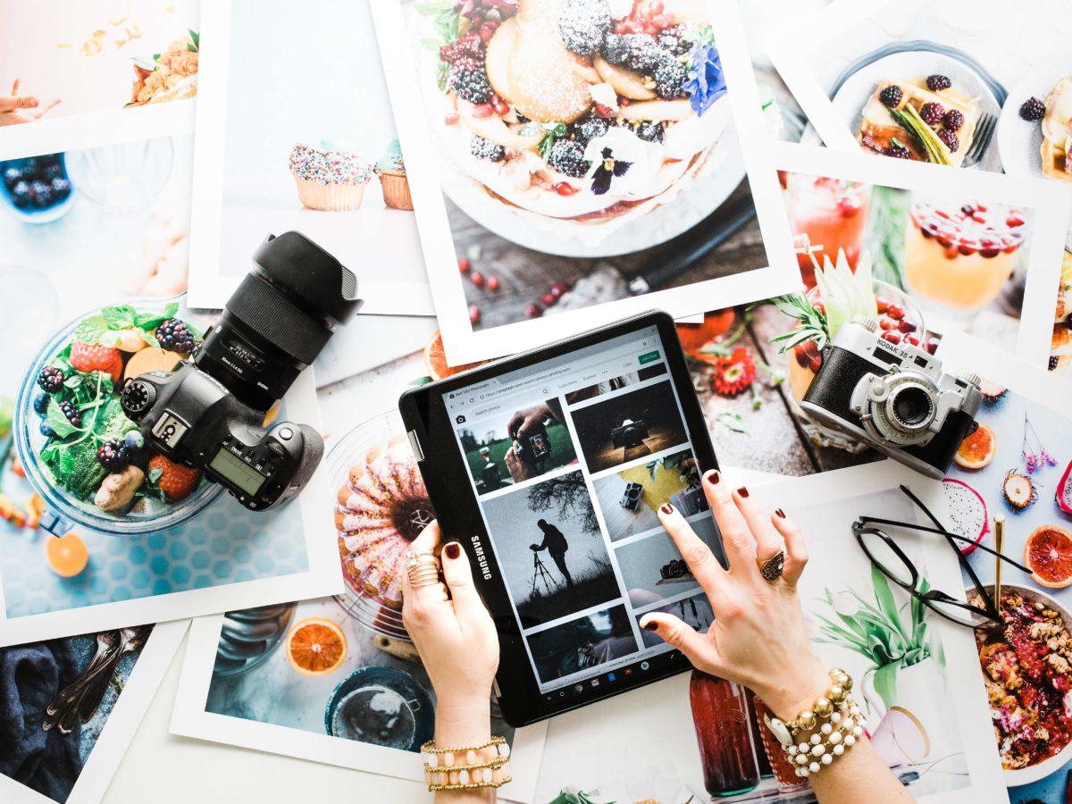 Blog Bilder veröffentlichen